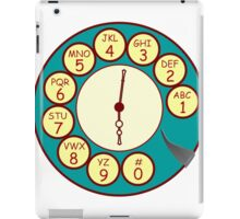 Telephone Dial iPad Case/Skin
