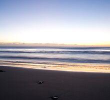 Ballynaclash beach at dawn by Ian Middleton