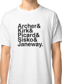 Star Trek Captains Classic T-Shirt
