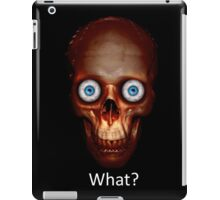 Crazy Eyes_What? iPad Case/Skin