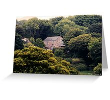 House in The Woods Greeting Card