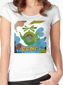 Gong T-Shirt Women's Fitted Scoop T-Shirt