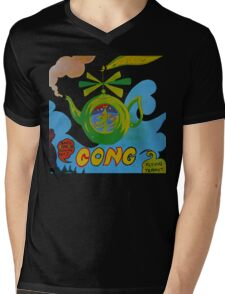 Gong T-Shirt Mens V-Neck T-Shirt