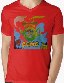 Gong T-Shirt Mens V-Neck T-Shirt