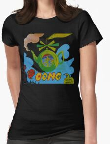 Gong T-Shirt Womens Fitted T-Shirt