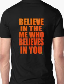 gurren lagann simon kamina believe in the me who believes in you anime manga shirt T-Shirt