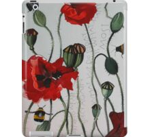 Wild poppies iPad Case/Skin