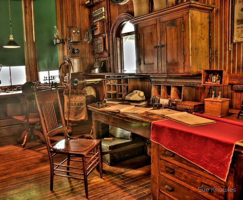 The Old Ticket Office by Sue Knowles
