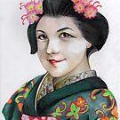 The geisha Iskamontero by Lubna