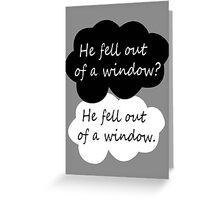 BBC Sherlock quote Greeting Card