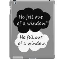 BBC Sherlock quote iPad Case/Skin