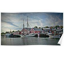 Lunenburg Harbour, NS Poster