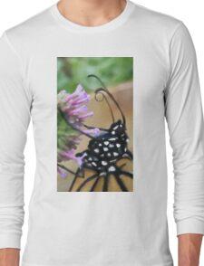 Monarch Butterfly - Breakfast II Long Sleeve T-Shirt