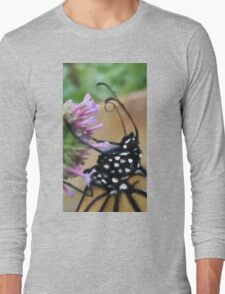 Monarch Butterfly - Breakfast II Long Sleeve T-Shirt