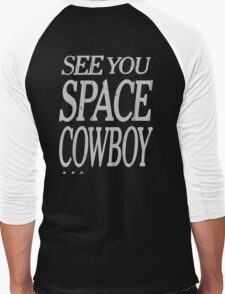 cowboy bebop see you space cowboy anime manga shirt Men's Baseball ¾ T-Shirt
