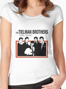 The Teilman Brothers HolLand Indonesia Old vintage  Women's Fitted Scoop T-Shirt