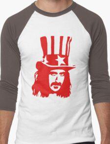 Frank Zappa For President Men's Baseball ¾ T-Shirt