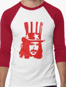 Frank Zappa For President Men's Baseball ¾ T-Shirt