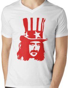 Frank Zappa For President Mens V-Neck T-Shirt