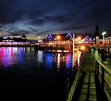 Night Lights in Freo by Stuart Meachem