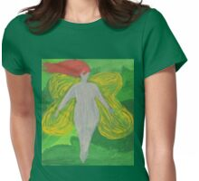 Forest Faerie Womens Fitted T-Shirt