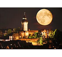 Moon over NBG Photographic Print