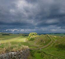 Hadrian's Wall - Cuddey's Crag by Nigel Bangert