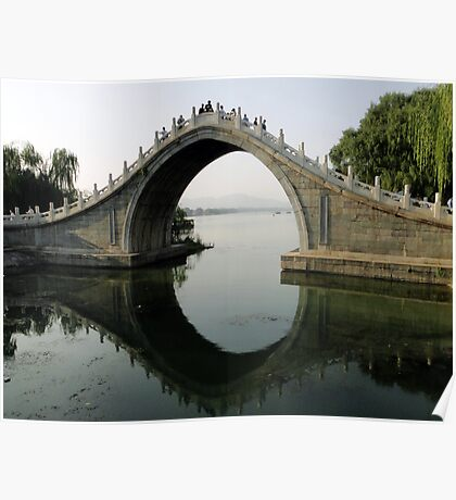 Summer Palace Scene, Beijing Poster