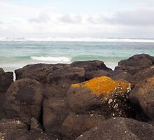 Pea Soup beach Port Fairy by jayview