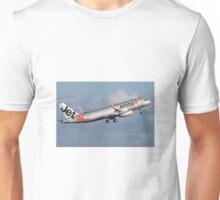 Jetstar Asia Airbus A320 9V-JSS Unisex T-Shirt