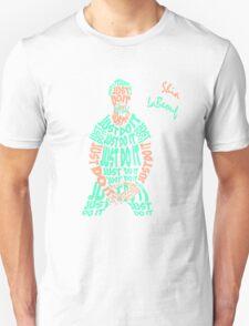 JUST DO IT - Shia LaBeouf neon Unisex T-Shirt
