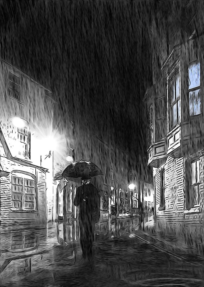 Umbrella Man by Svetlana Sewell