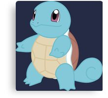 pokemon squirtle anime manga shirt Canvas Print