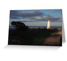 Port Fairy lighthouse  Greeting Card