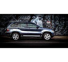 BMW X5 Photographic Print
