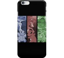 pokemon charmander squirtle bulbasaur blastoise charizard venusaur anime manga shirt iPhone Case/Skin