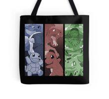 pokemon charmander squirtle bulbasaur blastoise charizard venusaur anime manga shirt Tote Bag