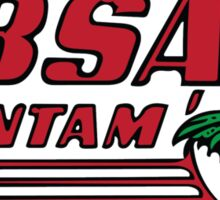 BSA Bantam Motorcycle Sticker