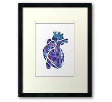 Heart of Ink Framed Print