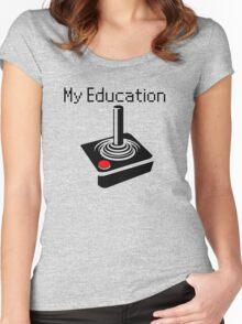 atari Women's Fitted Scoop T-Shirt
