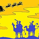 Three Wise Men at Christmas by Kerina Strevens