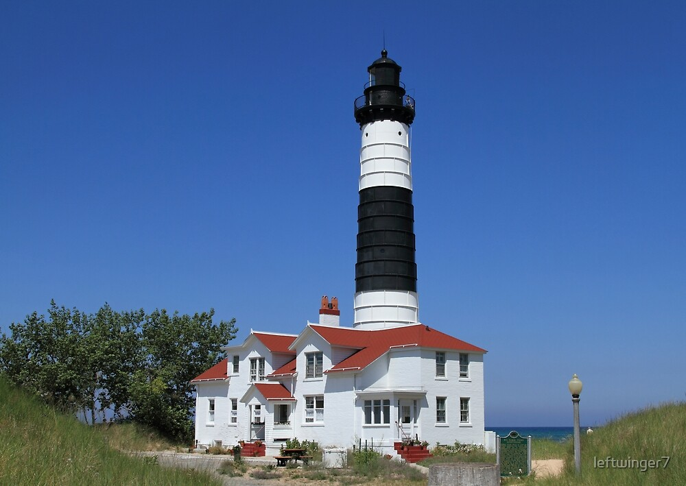 Big Sable Point Lighthouse by leftwinger7