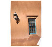 Santa Fe - Adobe Window and Light Poster