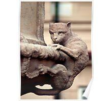 Stone Demon - Mirabell Gardens Salzburg Poster