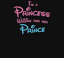 I'm a princess waiting for her PRINCE Womens Fitted T-Shirt