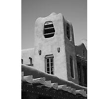 Santa Fe - Adobe Building Photographic Print