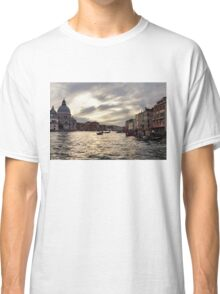 Impressions of Venice - the Grand Canal in Silver and Pearl Classic T-Shirt