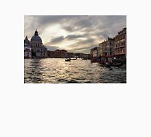 Impressions of Venice - the Grand Canal in Silver and Pearl Unisex T-Shirt