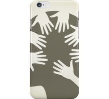 Head of hands iPhone Case/Skin