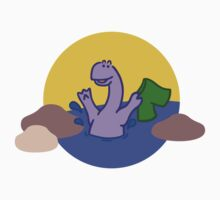 Skinny Diplodocus (image only) Kids Clothes
